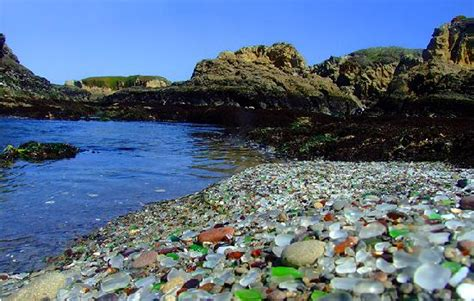 beach of glass glass picture of glass beach fort bragg tripadvisor
