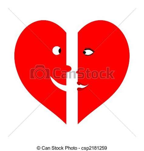 imagenes de corazones a la mitad eps vectores de dulce mitad dos medios corazones