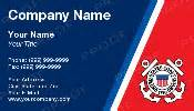 coast guard auxiliary business cards coast guard business cards