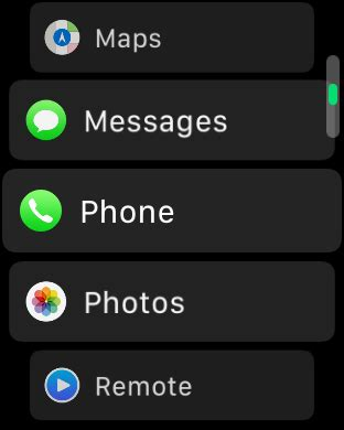 change layout of app how to change the apple watch layout to a list
