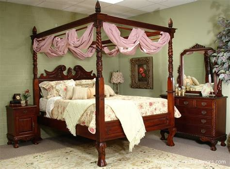 4 post canopy bed four poster canopy bed
