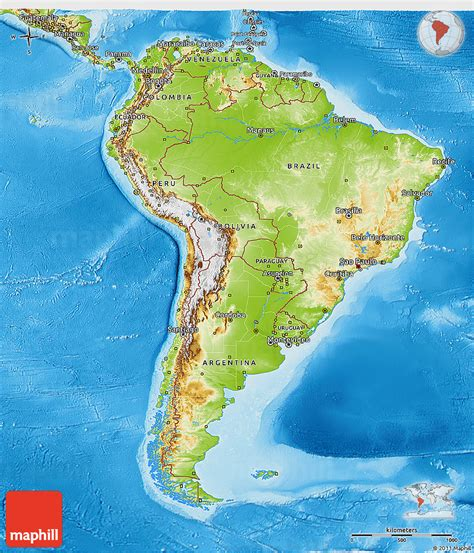 world map in red and yellow tones usa and latin america ancient