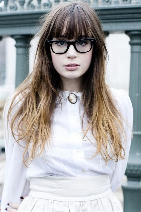 hair cut with bangs worn different ways 20 ways to wear bangs hairstyles on ombre hair