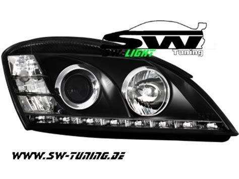 Kia Ceed Headlight Sw Light Scheinwerfer Kia Ceed 06 09 Led Standlicht Black