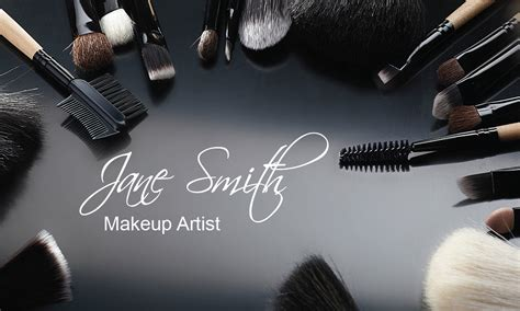 makeup artist name card template makeup artist name card template makeup vidalondon