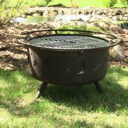 Fire pit grill outdoor backyard patio portable wood burning cosmic