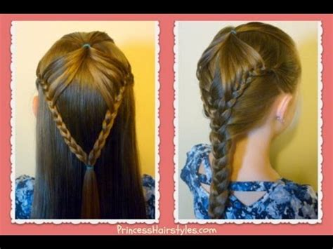braid hairstyles for school youtube quot fairy wings braid quot half up hairstyles for school