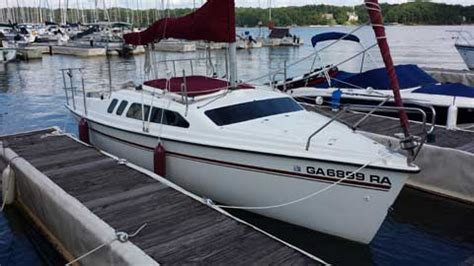 lake lanier sailboat rental hunter 23 5 1994 lake lanier atlanta georgia sailboat