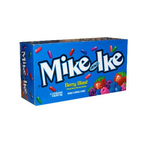 Permen Mike And Ike Mikeandlke Candies Berry Blast 141 Gr mike ike berry blast 24ct