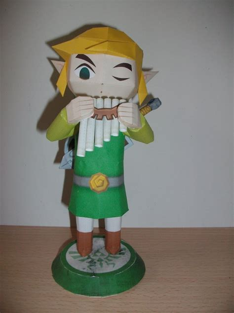 Papercraft Link - link spirit tracks paper crafts