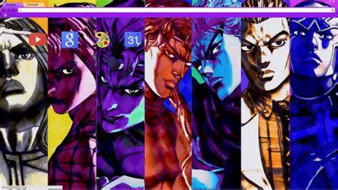 Google Themes Jojo | jojo google chrome theme chrome theme themebeta