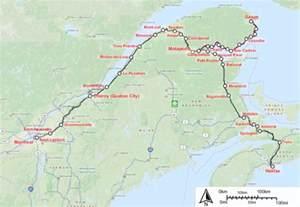 via rail canada map