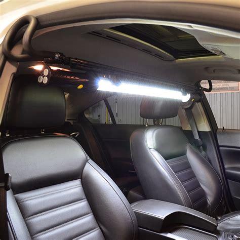 car light bar interior auto detailing light bar