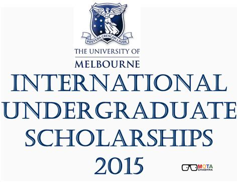 Of Melbourne Mba Scholarship by Of Melbourne International Undergraduate