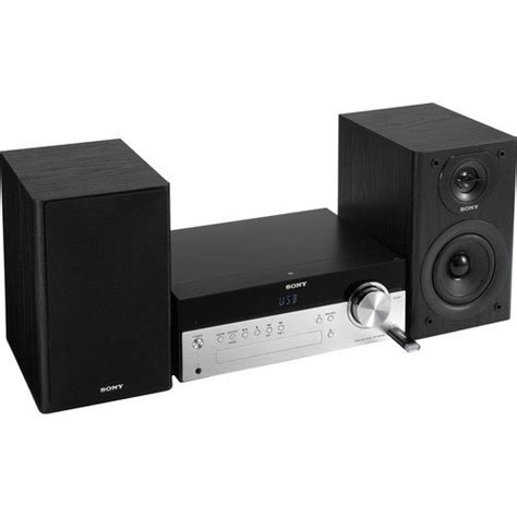 sony micro hi fi shelf system with single disc cd player