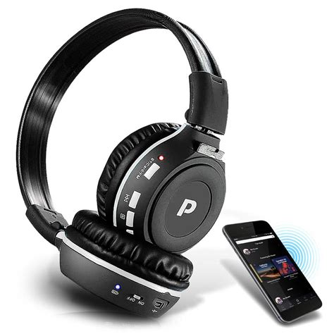 Headphone Mp3 Player Sd Card pylehome phpmp39 sound and recording headphones mp3 players
