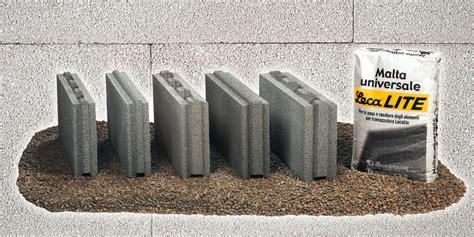 Costruire Muro Blocchi Cemento by Blocchi Per Tramezzature Interne Lecablocco Tramezza Lecalite