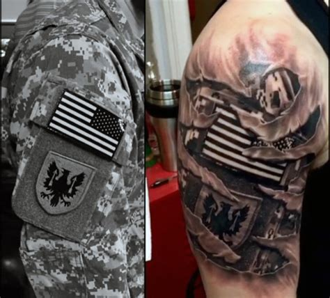 rip tattoos on arm 90 army tattoos for manly armed forces design ideas