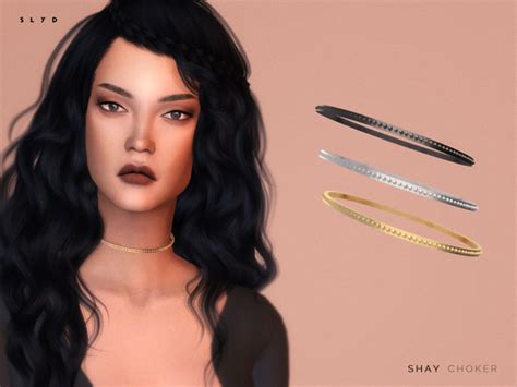 Home Decor Shopping Sites by The Sims Resource Shay Choker By Slyd Sims 4 Downloads