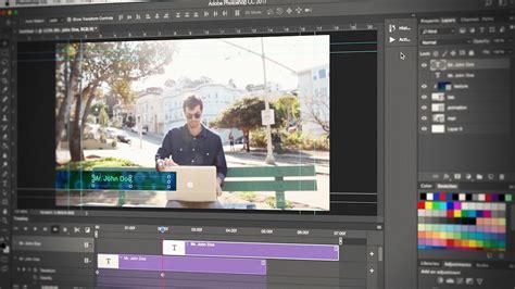 design video editor photoshop cc video editing pluralsight