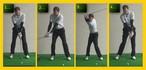 correct golf swing proper golf swing images search