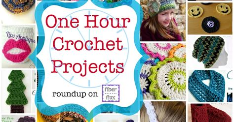 35 one hour crochet projects diy craft projects