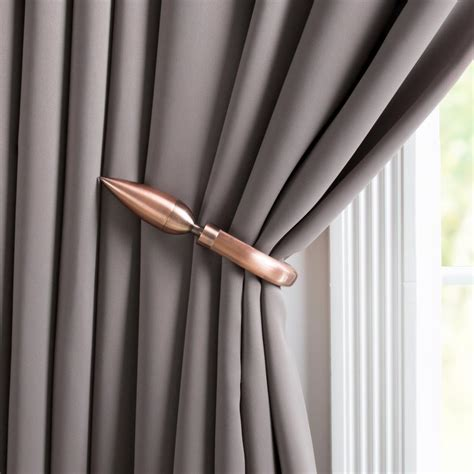 curtains holdback lavish home leaf holdback pair in rubbed bronze 63 19223a