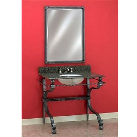 Wrought Iron Bathroom Vanities by Bathroom Vanities Wrought Iron Vanity Console 103 By