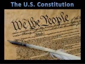 The Establishment The U S Constitution