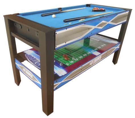 triumph sports usa vortex 54 4 in 1 swivel table sportcraft vortex 54 4 in 1 swivel table kmart