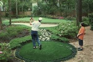 backyard chipping green synthetic grass turf putting greens lawn turf