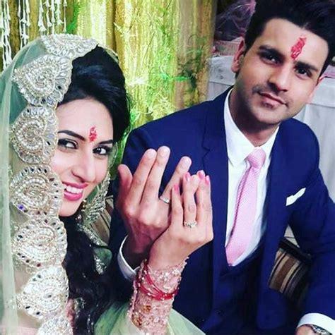 vivek dahiya new pics it s official divyanka tripathi gets engaged to vivek