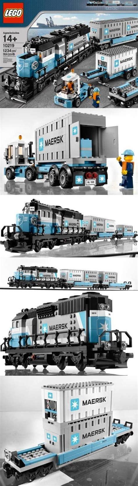 Lego Creator 10219 Maerks lego creator maersk 10219 toys building sets lego trains lego