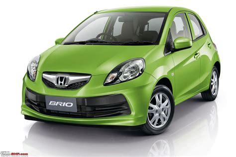 honda small car honda brio small car for india unveiled update scoop