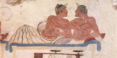Illustration gay male
