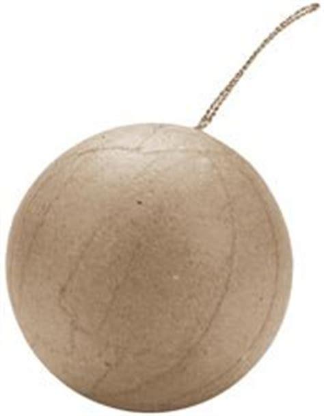 How To Make Paper Mache Balls - bulk buy darice paper mache ornament 2 1