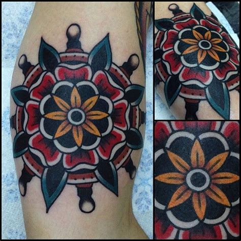 traditional mandala tattoo 17 best images about school flowers on