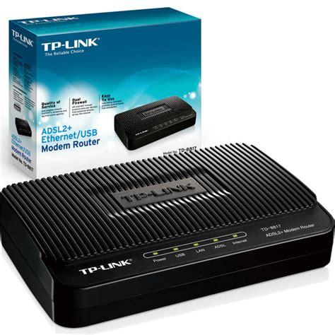 Modem Usb Tp Link tp link adsl2 ethernet usb modem router td 8817
