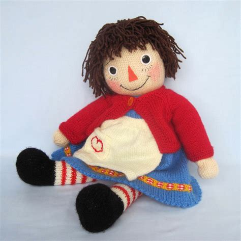 pattern knitting doll knitted doll pattern merrily ann raggedy ann style email