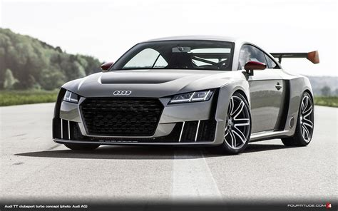 audi tt clubsport turbo concept  technical showcase