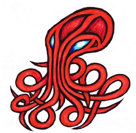 tribal octopus tattoo designs 28 tribal octopus tattoos and designs