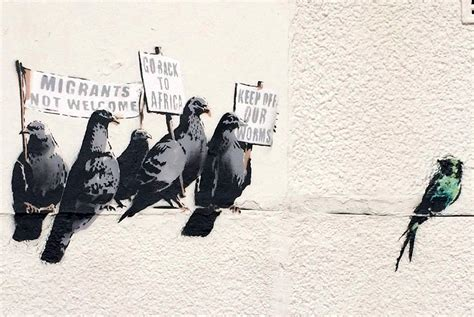 banksy painting facts banksy and the generational decay of modern art social