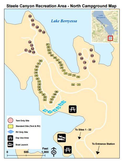 with pleasure cove books cground at lake berryessa california