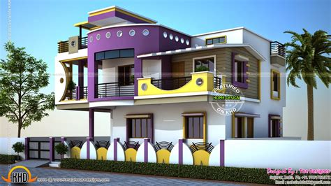Exterior Home Design Gallery House Exterior Designs In Contemporary Style Kerala Home