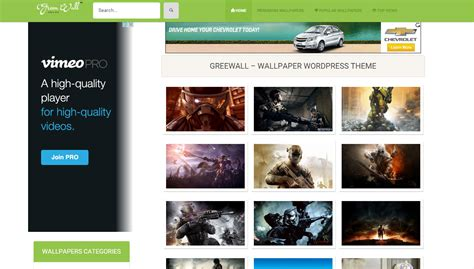 wordpress themes video free download free responsive wordpress wallpaper themes all design