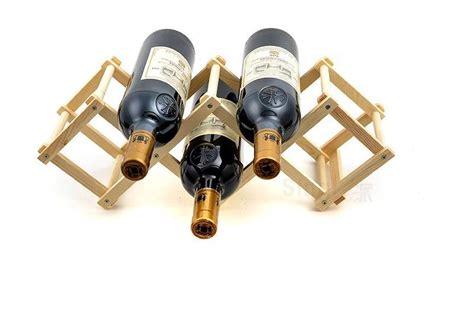 Bottle Rack Ta by 5 Bottle Wine Rackcellar Adjustable Solid Wood Wine Rack