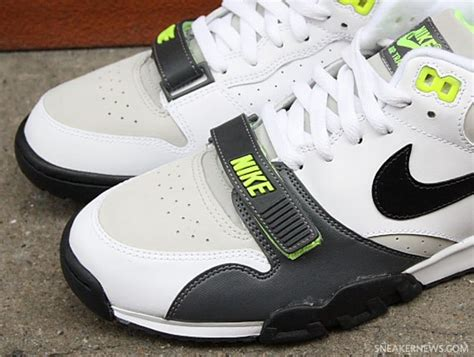 exclusive sneaker news nike air trainer 1 white black volt exclusive