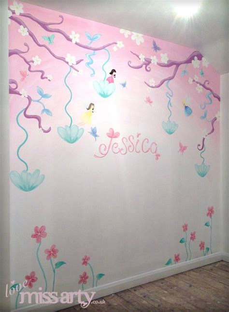 butterfly wall murals and butterfly wall mural designed and painted