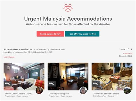 airbnb natural disaster airbnb waives service fee for flood victims lowyat net