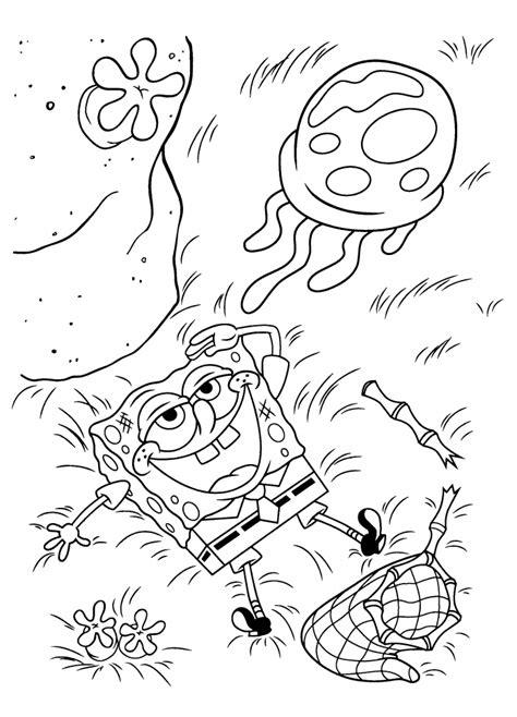 hard spongebob coloring pages spongebob coloring pages hard coloring pages